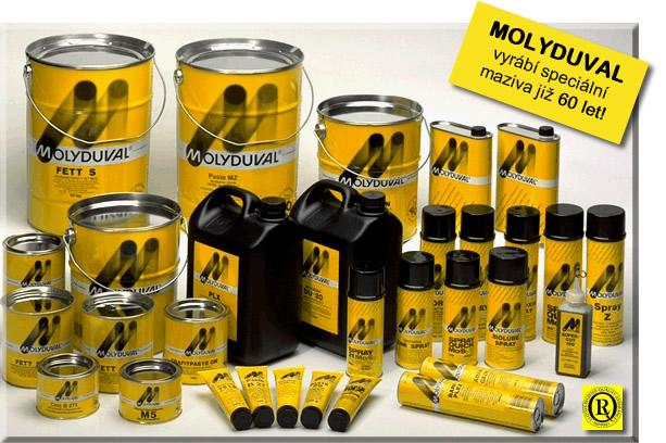 MOLYDUVAL Special Lubricants, Dầu mỡ MOLYDUVAL, Dầu mỡ bôi trơn đặc biệt MOLYDUVAL, Dầu mỡ bôi trơn đặc chủng MOLYDUVAL, dầu mỡ bôi trơn chuyên dụng,